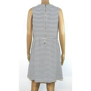 J. Crew Dresses - J. Crew Size Women Dress White Black Striped